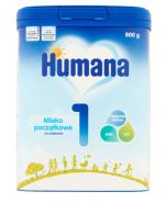 HUMANA 1 Mleko początkowe - 800 g - Apteka internetowa Melissa