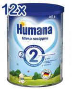 HUMANA 2 Mleko następne po 6 miesiącu - 12 x 350 g - Apteka internetowa Melissa