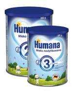 HUMANA 2 Mleko następne po 6 miesiącu - 800 g + HUMANA 3 - 350 g W ZESTAWIE! - Apteka internetowa Melissa