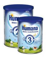 HUMANA 2 Mleko następne po 6 miesiącu - 800 g + HUMANA 3 bananowo - waniliowa - 350 g W ZESTAWIE! - Apteka internetowa Melissa