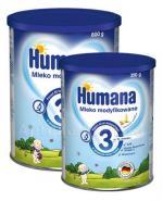 HUMANA 3 bananowo - waniliowa Mleko modyfikowane po 12 miesiącu - 800 g + HUMANA 3 bananowo - waniliowa - 350 g W ZESTAWIE! - Apteka internetowa Melissa