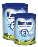HUMANA 3 Mleko modyfikowane po 12 miesiącu - 800 g + HUMANA 3 - 350 g W ZESTAWIE! - Apteka internetowa Melissa