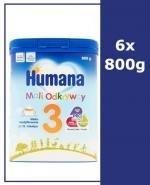 HUMANA 3 Mleko modyfikowane w proszku - 6x800 g - Apteka internetowa Melissa
