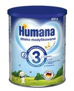 HUMANA 3 Mleko modyfikowane w proszku bananowo-waniliowe - 800 g  Data ważności: 2018.06.11 - Apteka internetowa Melissa