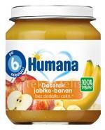 Humana 100% Organic Deserek jabłko-banan - 125g - Apteka internetowa Melissa