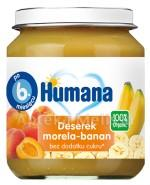 HUMANA 100% ORGANIC Deserek morela-banan - 125g - Apteka internetowa Melissa