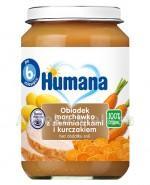 HUMANA 100% ORGANIC Obiadek marchewka z ziemniakami i kurczakiem - 190 g - Apteka internetowa Melissa