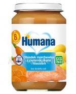 HUMANA 100% ORGANIC Obiadek marchewka z ziemniaczkami i łososiem - 190 g - Apteka internetowa Melissa