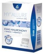 HY`ALLURE Kwas hialuronowy z biotyną i witaminą C - 36 kaps. (HYALLURE) - Apteka internetowa Melissa
