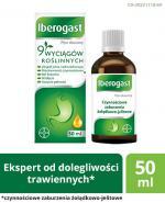 IBEROGAST - lek na czynnościowe dolegliwości trawienne - 50 ml - cena, opinie, wskazania