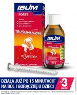 IBUM FORTE 200 mg/5 ml Zawiesina doustna o smaku truskawkowym - 100 g