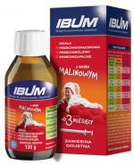 IBUM Zawiesina o smaku malinowym 100 mg / 5 ml - 130 ml - Apteka internetowa Melissa