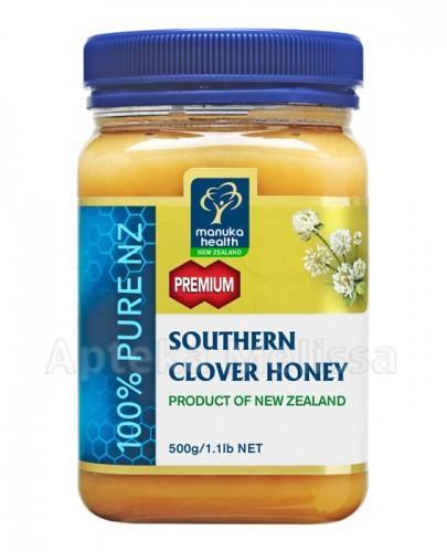 Miód Manuka nektarowy z koniczyny 500g