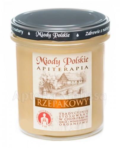 MIODY POLSKIE MIÓD RZEPAKOWY - 400 g + Stick - 15 g GRATIS!!!