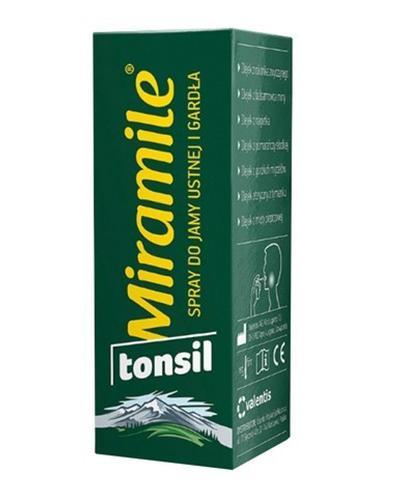 MIRAMILE TONSIL Spray do jamy ustnej i gardła - 30 ml  - Apteka internetowa Melissa
