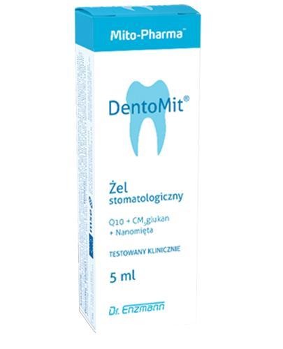 Mitopharma DentoMit Żel stomatologiczny - 5 ml - cena, opinie, właściwości - Apteka internetowa Melissa