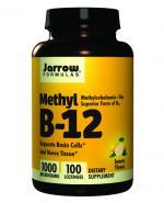 JARROW FORMULAS Methyl B-12 - 100 tabl. - Apteka internetowa Melissa