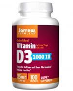 JARROW FORMULAS Vitamin D3 1000 IU - 100 kaps.