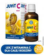 JUVIT C - 40 ml - Apteka internetowa Melissa