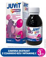 JUVIT IMMUNO - 120 ml. Wsparcie odporności u dzieci od 3. roku życia.