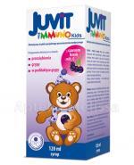 JUVIT IMMUNO KIDS Syrop dla dzieci z czarnym bzem i witaminą C na przeziębienie i grypę - 120 ml - Apteka internetowa Melissa