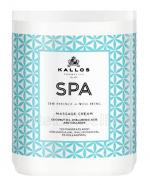 KALLOS SPA MASSAGE CREAM Krem do masażu z olejem kokosowym, kwasem hialuronowym i kolagenem - 1000 ml - Apteka internetowa Melissa