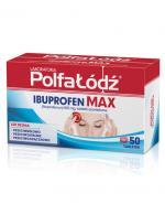 LABORATORIA POLFA ŁÓDŹ Ibuprofen Max - 50 tabl. - Apteka internetowa Melissa