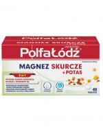 LABORATORIA POLFA ŁÓDŹ Magnez skurcze + potas - 40 tabl. - Apteka internetowa Melissa