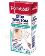 LABORATORIA POLFA ŁÓDŹ STOP WIRUSOM Aerozol do nosa - 15 ml  - Apteka internetowa Melissa