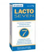 LACTOSEVEN - 20 tabl.Odporność i zdrowa mikroflora jelitowa.