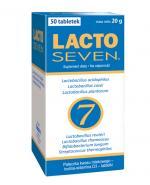 LACTOSEVEN - 50 tabl. Odporność i zdrowa mikroflora jelitowa.