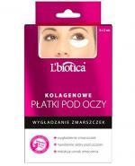 LBIOTICA Kolagenowe płatki pod oczy wygładzające zmarszczki - 3 x 2 szt. - Apteka internetowa Melissa