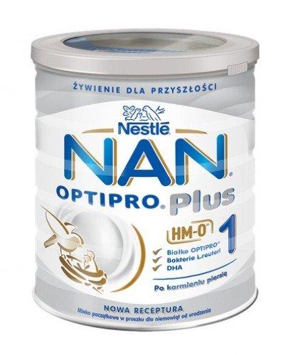 a2def7e9cc218d NESTLE NAN OPTIPRO PLUS 1 HM-O Mleko początkowe w proszku dla niemowląt od  urodzenia