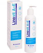 LINOVIT A+E Dermatologiczny żel do mycia z witaminami A i E - 250 ml - Apteka internetowa Melissa
