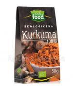 LOOK FOOD Kurkuma - 50 g - Apteka internetowa Melissa