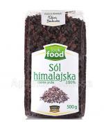 LOOK FOOD Sól himalajska czarna gruba - 500 g - Apteka internetowa Melissa