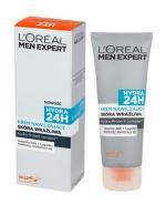 L'OREAL MEN EXPERT HYDRA 24H Krem nawilżający do skóry wrażliwej - 75 ml - Apteka internetowa Melissa