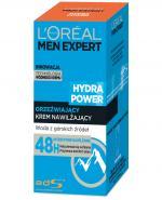 L'OREAL MEN EXPERT HYDRA POWER Orzeźwiający krem nawilżający - 50 ml - Apteka internetowa Melissa