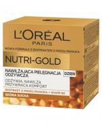 L'OREAL NUTRI GOLD Krem na dzień nawilżająca terapia odżywcza - 50 ml