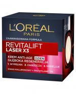 L'OREAL REVITALIFT LASER X3 Krem Anti Age na dzień terapia regenerująca - 50 ml - Apteka internetowa Melissa