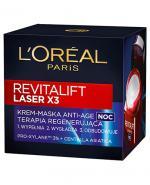 L'OREAL REVITALIFT LASER X3 Krem-maska Anti Age na noc terapia regenerująca - 50 ml - Apteka internetowa Melissa