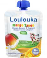 Loulouka Mango Tango Mus owocowo-mleczny - 90 g - cena, opinie, właściwości