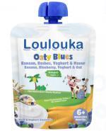 Loulouka Oaty Blues Mus owocowy - 90 g - cena, opinie, wskazania