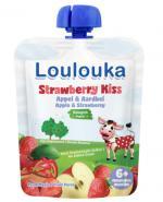 Loulouka Strawberry Kiss Mus owocowy - 90 g - cena, opinie, właściwości