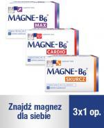 MAGNE-B6 MAX - 50 szt. + MAGNE-B6 SKURCZ - 30 szt. + MAGNE-B6 CARDIO - 50 szt.