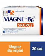 MAGNE-B6 SKURCZ - 30 szt. Magnez, witamina D w tabletkach.