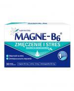 Magne-B6 Zmęczenie i stres - 30 tabl. Magnez i ashwagandha - cena, opinie, stosowanie