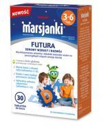 MARSJANKI FUTURA Tabletki do żucia 3-6 lat - 30 szt. - cena, opinie, wskazania