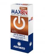 Maxon Forte 50 mg - 4 tabl. Lek na zaburzenia erekcji - cena, opinie, stosowanie