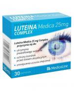 MEDICALINE Luteina Medica 25 mg - 30 kaps. - Apteka internetowa Melissa